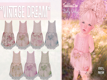 * {.:Little Stars.:} * Vintage Dream - Antique Fatpack {non-fitted TD Baby}