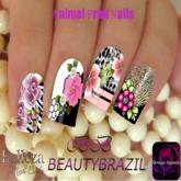 BeautyBrazil Applier - AnimalPrint Nails Belleza
