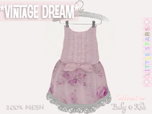 * {.:Little Stars.:} * Vintage Dream - Antique Lavender {non-fitted TD Baby}