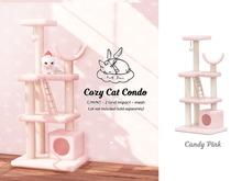 +Half-Deer+ Cozy Cat Condo [Candy Pink] SLB15 Sale!