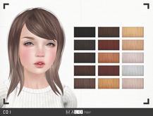 [MALO] C01 Hair - Natural