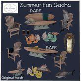 .:Bee Designs:. Summer Fun Gacha Octopus- yellow
