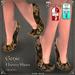 DEMO Genie Harem Shoes by Caverna Obscura - for Maitreya body, Slink Physique body, Slink HIGH feet, Gaeline feet