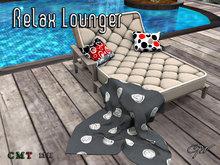 GW Relax Beach Lounger Chair (PG)