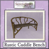 Serendipity Designs - Rustic Cuddle Bench (C)