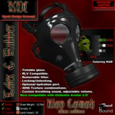 KDC Wasp Gasmask - Latex edition