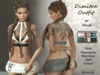 Dimitra Outfit w Hud Slink Hourglass Maitreya TMP Fitted