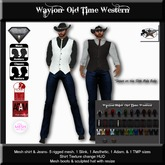 Country Couture Waylon Old Time Western