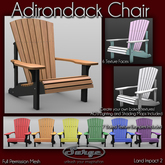 Mesh Adirondack Chair - Full Permission - Low Impact