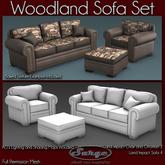 (Surge) Woodland Sofa Set