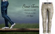 {Fe Style} Casual Jeans v.1 - Khaki