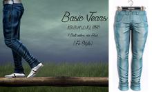 {Fe Style} Casual Jeans v.1 - LightBlue