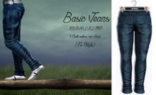 {Fe Style} Casual Jeans v.1 - Indigo