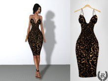 The Rove - Sexy leopard dress - Omega applier