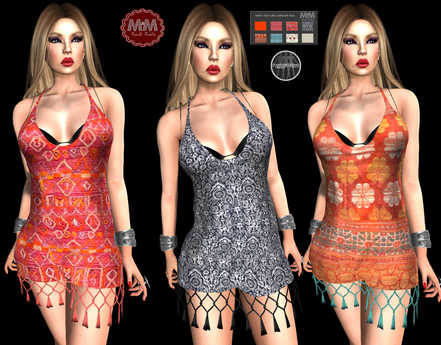 M&M-MADAL DRESS HUD
