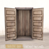 *ionic* Rustic Stall . simple
