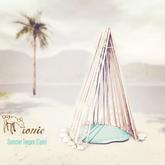 ionic : summer teepee (cyan)