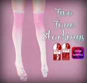 ::Love Lace:: Pink & White Stockings (Omega & Slink)