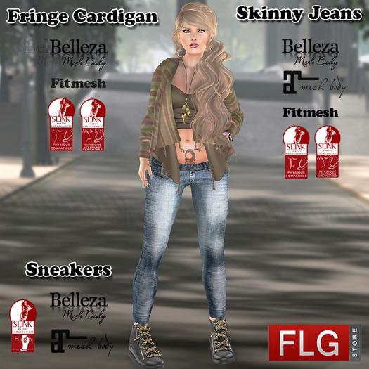 ::FLG Fracis Outfit + HUD 10 models - ::