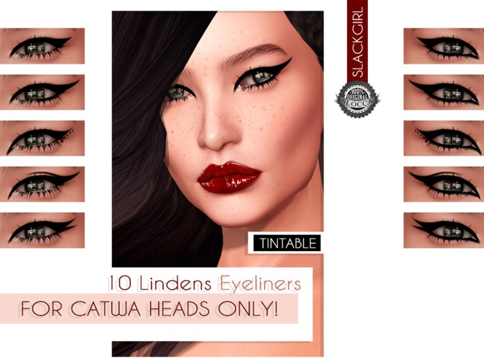 ::SG:: Eyeliner For U (10L) for CATWA MESH HEAD ONLY!!!