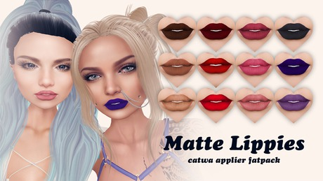 +abigailia+ Matte lippies - catwa applier