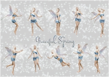 Belle Epoque Poses { Graceful Spring }