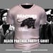 * Guarded Cross * Black Panther Party T-Shirt