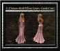 Cele'Sations Mesh Tiffany Gown ~ Candy Cane [ Maitreya Belleza TMP Eve Slink}