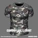 * Guarded Cross * Camouflage T-Shirt