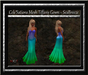 Cele'Sations Mesh Tiffany Gown ~ SeaBreeze  [ Maitreya Belleza TMP Eve Slink}