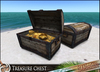 HeadHunter's Island - Pirate Treasure chest MESH - full  or empty versions included - COPY/MOD - functioning lid