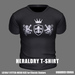 * Guarded Cross * Heraldry T-Shirt