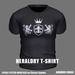 * Guarded Cross * Heraldry T-Shirt