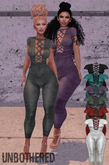 -Unbothered- Aubry Jumpsuit (Moss)