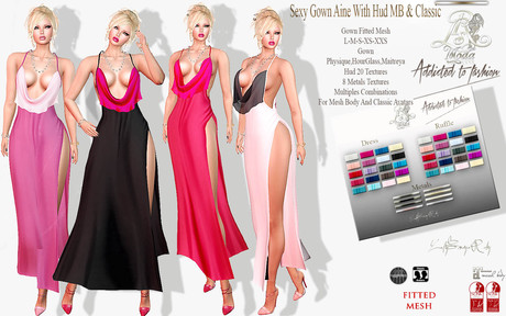 LSR - Sexy Gown Aine With Hud MB & Classic