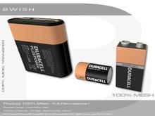 BWish - Batteries Kit 3 Models Full Permissions
