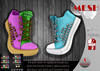.: LIKE DESIGN :. Shrink Sneakers ( With Color HUD )
