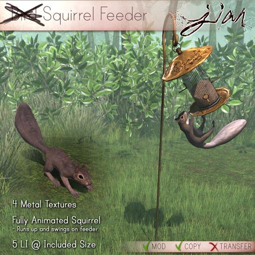 JIAN :: Squirrel Feeder