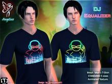 *En83* Angelux DJ Equalizer Men's T-Shirt