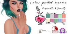 (.vix) Pastel Creams ~ Slink, Maitreya & Omega Nails UPDATED