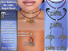 Maitreya - My LIttle Necklace and Navel Piercings