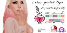 (.vix) Pastel Tips ~ Slink, Maitreya & Omega Nails UPDATED