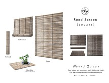 Soy. Reed Screen -SUDARE- [addme]