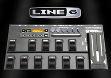 Guitar Effects Metal Goth  Rock PodXT Live Line6