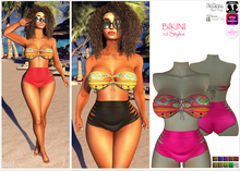 ★ Bikini 10 Styles #APPLIERS #For Mesh and Classic Avatar!★