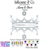 Ashbourne & Co. Moon & Stars Tiara