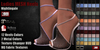 GAS [Ladies MESH Heels Nightingale - 12 Colors wiht HUD]