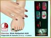 Bliensen + MaiTai - Cherries - Slink Nailpolish HUD Nail applier