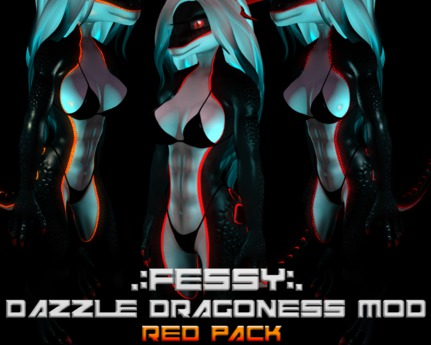 [Fessy's] Dragoness mod (RED PACK)