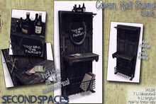 Second Spaces - Coven Hall Stand - black (bxd2)